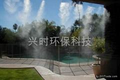 高壓微霧降溫造景系統