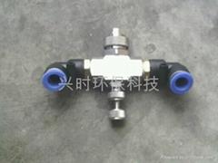 汽水混合式加湿喷雾系统