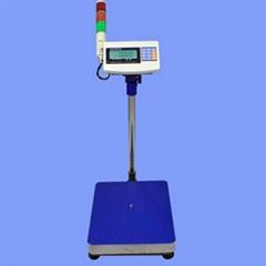 英展XK3150W三色燈報警電子計重台秤