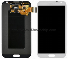Samsung note2  LCD with Touch Screen Digitizer + Frame Assembly
