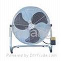 Speed Regulative Oscillating Industrial Exhaust Wall Fan 4