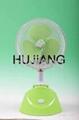 Solar Powered Desk Fan / Rechargealbe