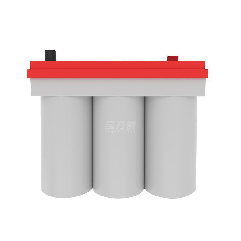 啟動電池 卷繞電池 低溫電池 12V50AH  汽車啟停電池 3