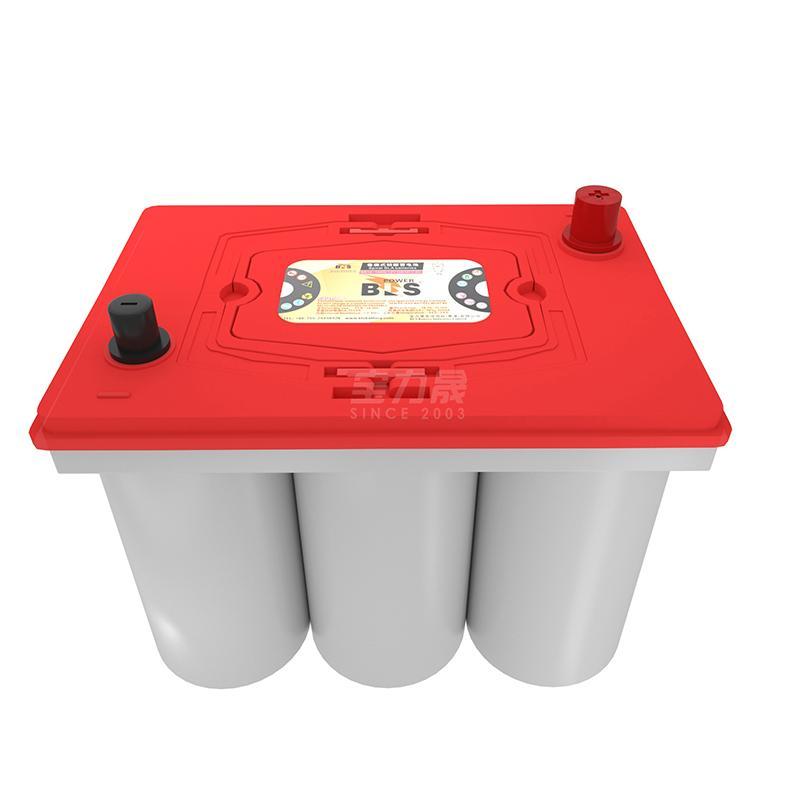 宝力晟12V100AH卷绕电池房车专用房车电瓶低温畜电池 1