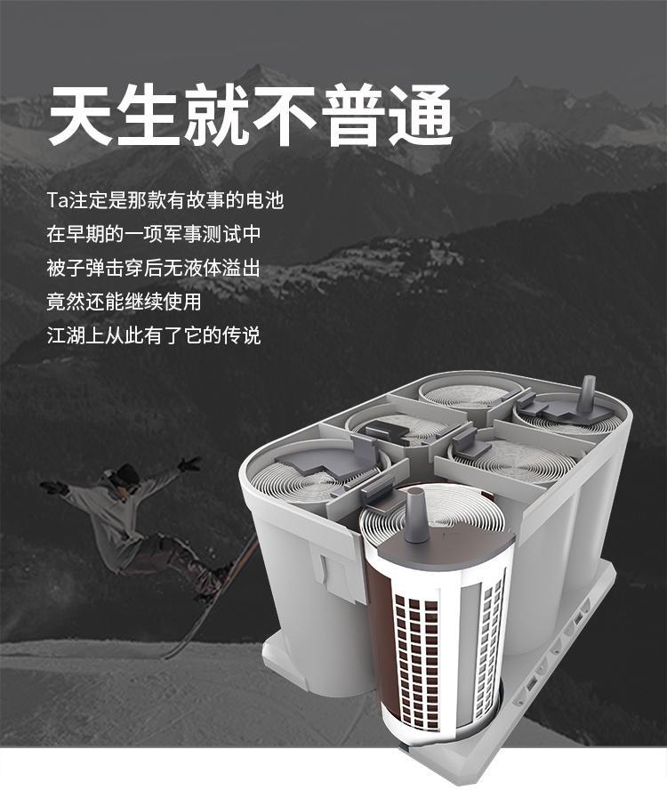 宝力晟12V100AH卷绕电池房车专用房车电瓶低温畜电池 3