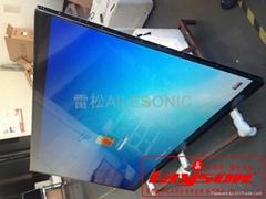 雷松 98寸商用触摸一体机,触摸大屏幕,98寸电视一体机