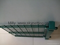 curvy welded 3D panel fence/ triple Wire Fencing/welded wire fence 4