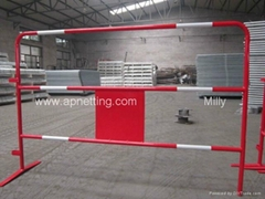 France crowd control Traffic Barrier Event TP Barricade with reflection sticker