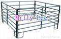 6 bar rails hot dip galvanized coated