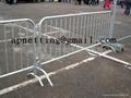 road high safety barriers/ pedestrian