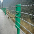 cheap safety rope cable barrier fencing
