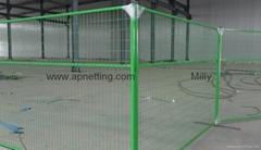 加拿大6x9.5英尺8*9.5英尺PVC 建筑防护临时护栏 专业生产厂家