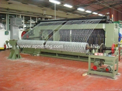 heavy weave hxagonal wire mesh gabion mattress machine