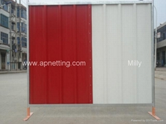 corrugated wall sheet steel Colour bond  Fence Solid Hoarding Panel