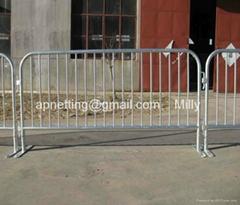 Bike Rack barricade/ecnomic Crowd