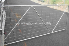 Australia Welded mesh Farm Agriculture Durable Fene Gate Steel Fence Mesh Gate