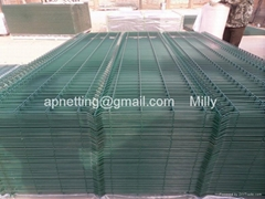 3D welded wire mesh fences/welded panel fencing/wire fencing panels