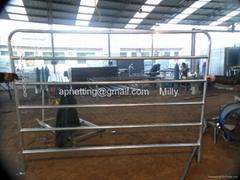 出口牧场围栏、农场护栏栅栏、牛栏护栏专业生产厂家