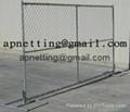 美国勾花临时护栏,移动钩花栅栏围栏,临时围栏防护栅栏 1