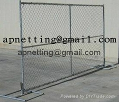 Chain Link Fence Temporary Security Fence/temporary chain link fence panels