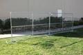 美国勾花临时护栏,移动钩花栅栏围栏,临时围栏防护栅栏 3