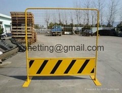 Singapore Road Safety 1.8m Metal Temporary Barricade Fencing/CCB barricade