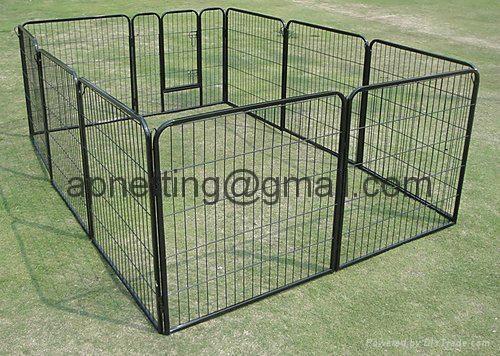 Modular pet enclosure /dog pen  panels/dog  kennel fence  1