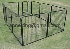 Modular pet enclosure /dog pen  panels/dog  kennel fence