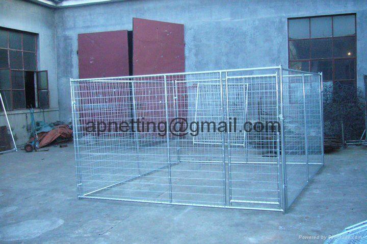 Modular pet enclosure /dog pen  panels/dog  kennel fence  2