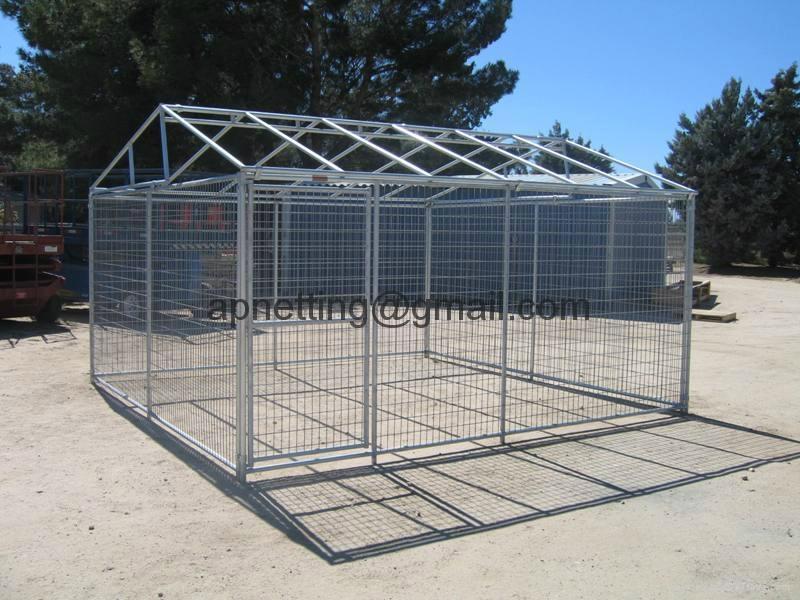 Modular pet enclosure /dog pen  panels/dog  kennel fence  4