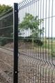 三角折弯防护护栏网,折弯护栏2.5米宽,浸塑庭院围墙护栏 1
