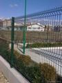 PVC高速公路折弯护栏/焊接网片生产厂家 2