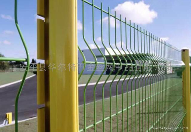 PVC高速公路折弯护栏/焊接网片生产厂家 4