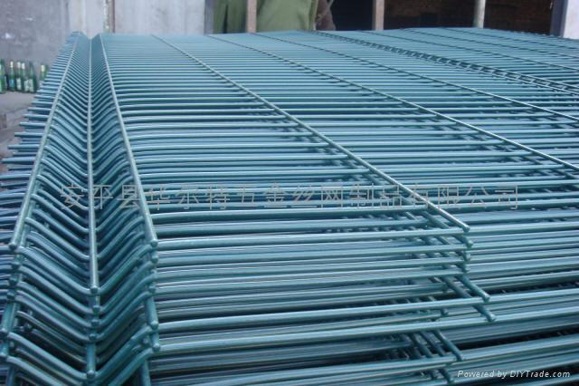 3D welded wire mesh fences/welded panel fencing/wire fencing panels 5