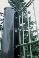 双丝浸塑围栏 折弯护栏网 防护网