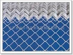 铝合金菱形钩花网  斜方护栏/护坡网