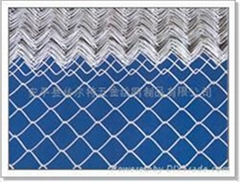 Aluminum stainless steel chain link wire fencing diamond mesh