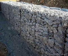 高上鋅量防鏽 防洪網 石籠網 重型六角網100*120