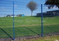 double horizontal wire fence/welded