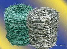 TOP quality normal Positive and negative screw galvanized barbed wire