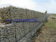 galfan PVC gabion basket gabion mattress stone cages