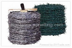 镀锌12x14刺绳铁蒺藜14#x14# 刺铁丝网 铁蒺藜 工厂