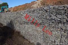 GB/T 20492-2006 高尔凡 锌铝合金石笼网垫 双绞节格宾网