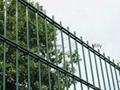 热镀锌喷涂双丝栅栏 868护栏网 565隔离栅