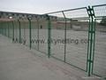 镀锌焊接便宜高质量PVC高速公路护栏