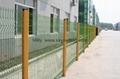 construction welded wire security fence