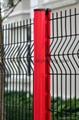 professional 3D Galvanised PVC fencing