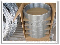 不鏽鋼 熱鍍鋅BTO-22 CBT 蛇腹形刀片刺網專業生產工廠