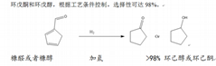 環戊酮和環戊醇生產工藝催化劑