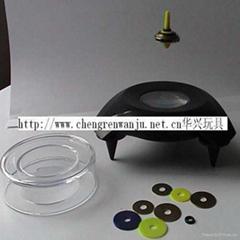 懸浮陀螺 懸浮飛碟 益智玩具 儿童神奇玩具 魔法飛碟 新奇特